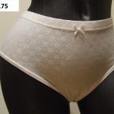 biele nohavičky