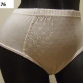 ženské biele nohavičky