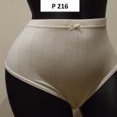 dámske nohavičky biele
